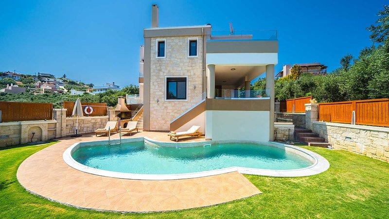 Dimitrios Seaview Villa, Marathokefala Chania, vakantiewoning in Kolymbari