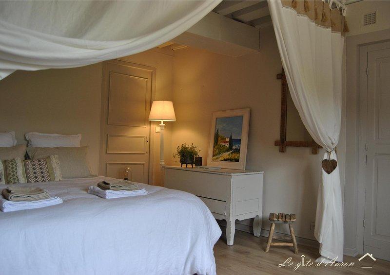 Le Gîte d'Aaron, 5 min du Pal, location de vacances à Thiel-sur-Acolin