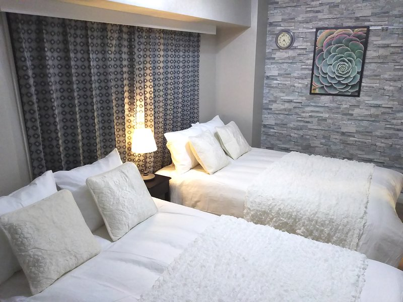 Shinjuku 2min!Good view!Clean,safe,stylish room! FreeWiFi, alquiler vacacional en Ogikubo