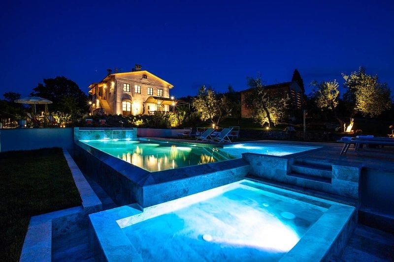 Spacious apt with pool access, Ferienwohnung in Cusignano