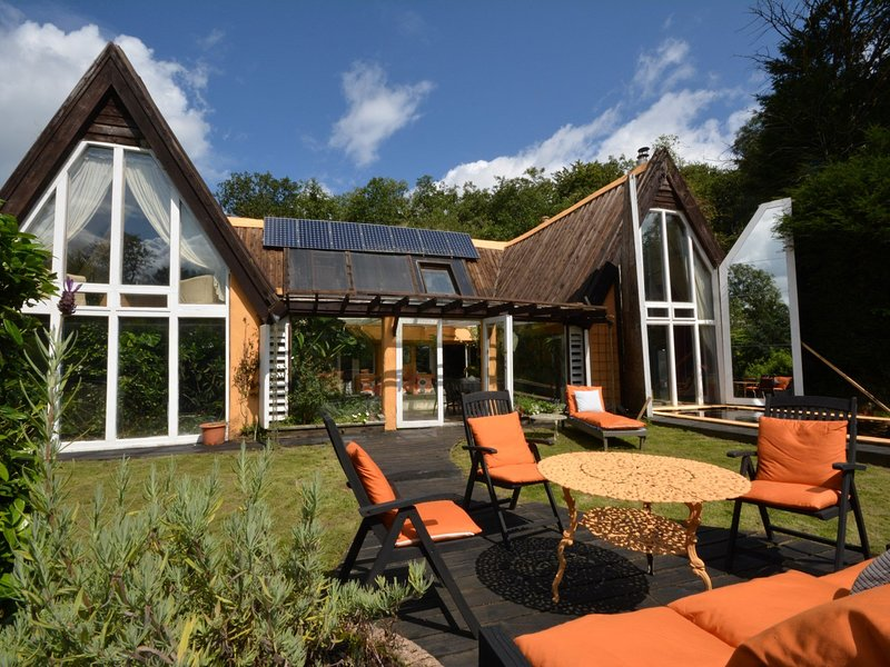Your very own indoor heated swimming pool in this superb eco home