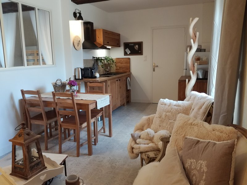 Appartement n°1 - Manoir de la Guignardiere, holiday rental in Monterfil