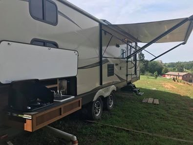 Newer Bunkhouse RV on 10 acres., holiday rental in Tellico Plains