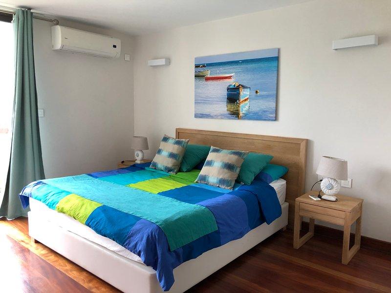 Appartement cozy et éléguant à 5 minutes des plages., alquiler vacacional en Mont Choisy