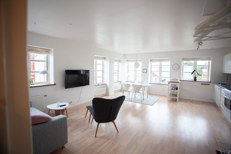 Central apartment in Tórshavn, holiday rental in Klaksvik