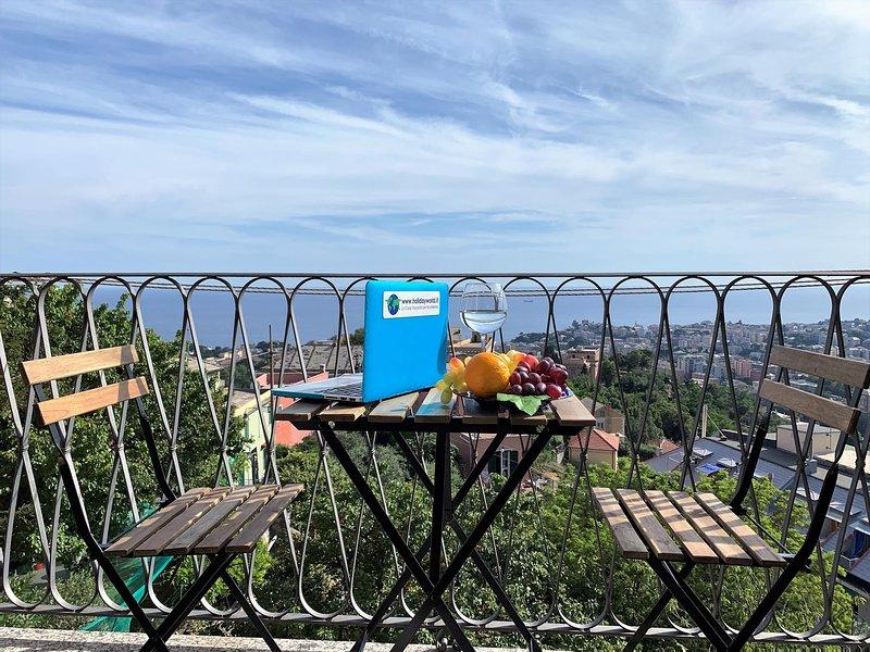 ILA1319 House Blue Sky, vacation rental in Valbrevenna