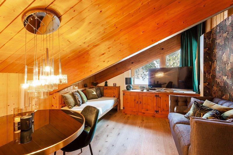 Apartment Leopardo near St. Moritz, vacation rental in Cresta