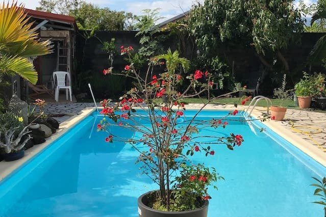 Nice house with shared pool & Wifi, casa vacanza a Bras-Panon