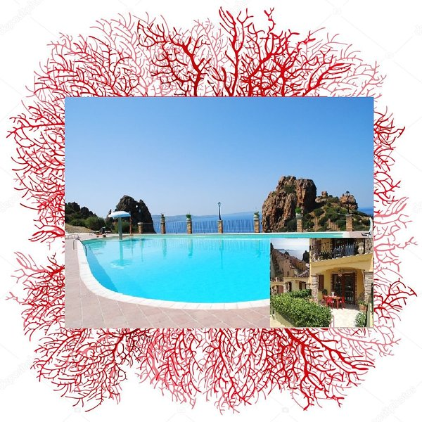 Sardinia holiday home Red Coral, 4 beds, pool, parking, wi.fi - IUN P7143, holiday rental in Fluminimaggiore
