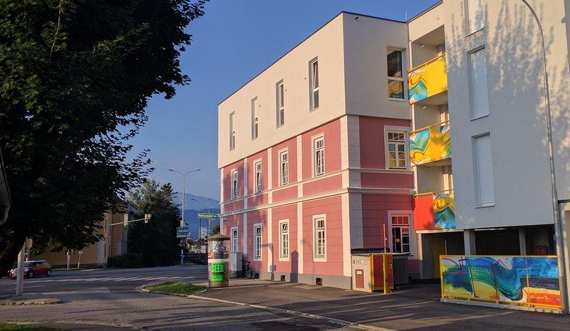 Messe Apartment 101 Athen, vakantiewoning in Pritschitz