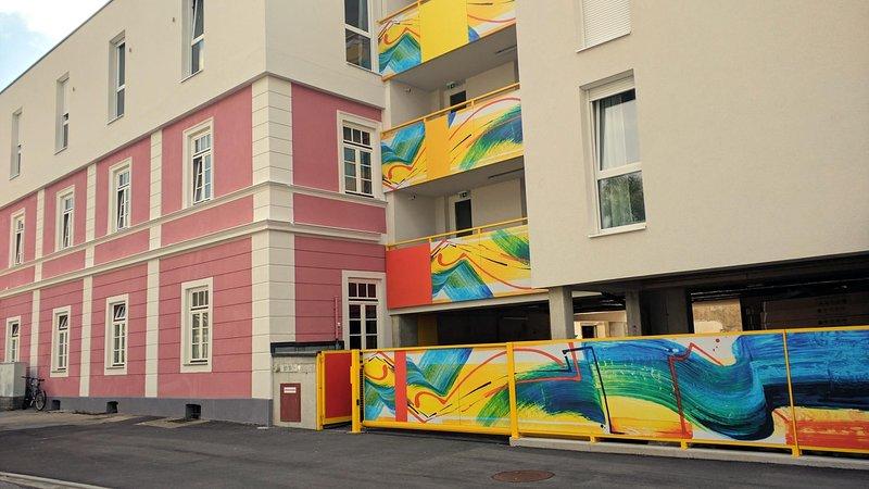 Messe Apartment 203 Rom, vakantiewoning in Pritschitz