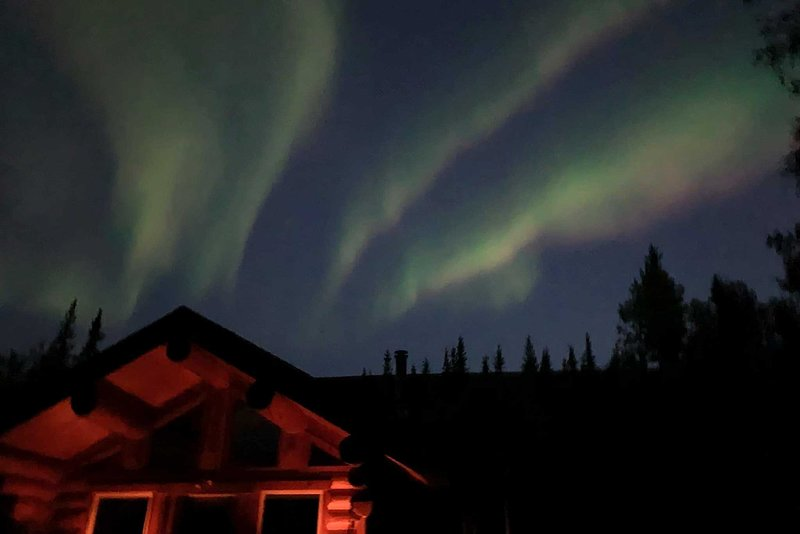 You'll be able to see the Aurora from the property!