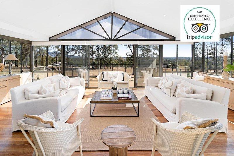 Hunter Valley Accommodation - Degen Estate - Pokolbin - Sitting Room