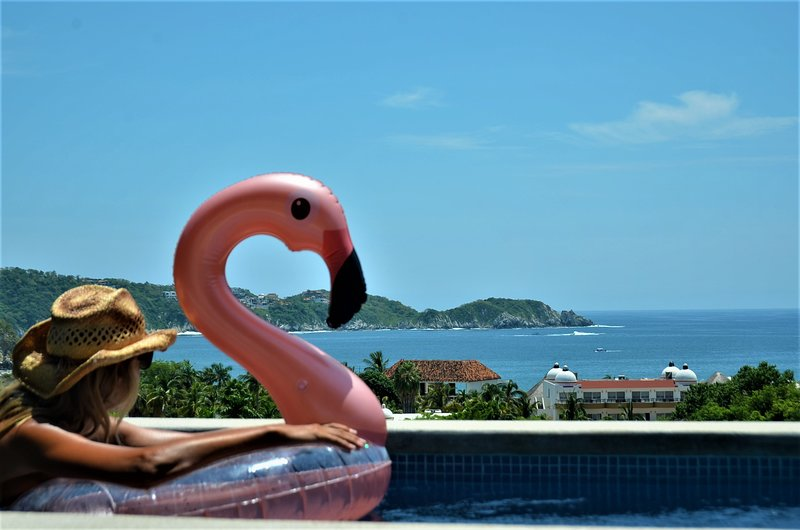 DEAL $̶1̶9̶9̶ Now $159 Featured on HGTV!! - Views - PH w/Private Pool, BBQ!, location de vacances à Huatulco