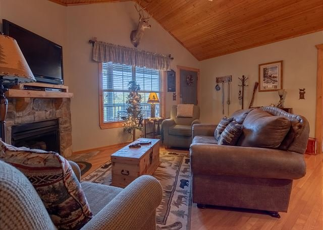 Rustic Retreat Close to Branson and Silver Dollar City! Pet Friendly Unit!, holiday rental in Rockaway Beach