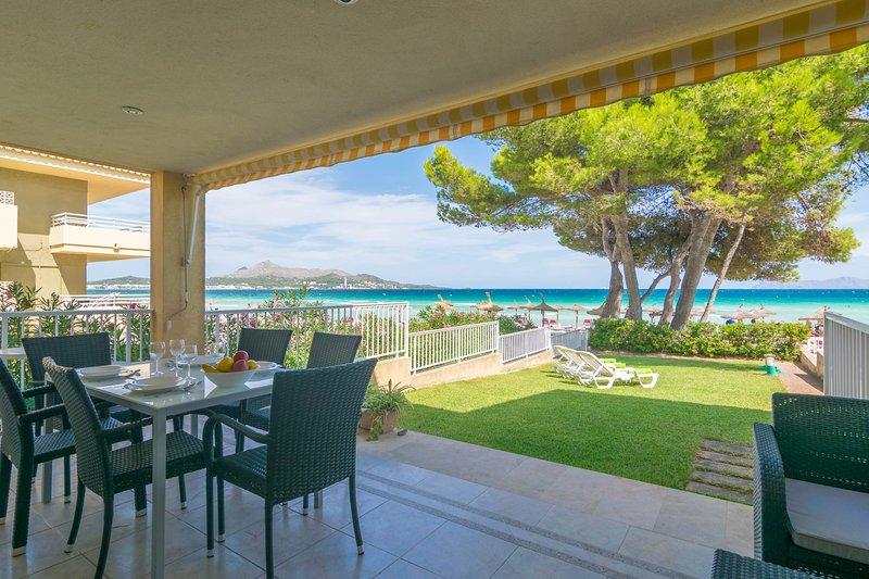 CHILLVISTA - Apartment for 6 people in Puerto de Alcúdia, alquiler de vacaciones en Port d'Alcudia