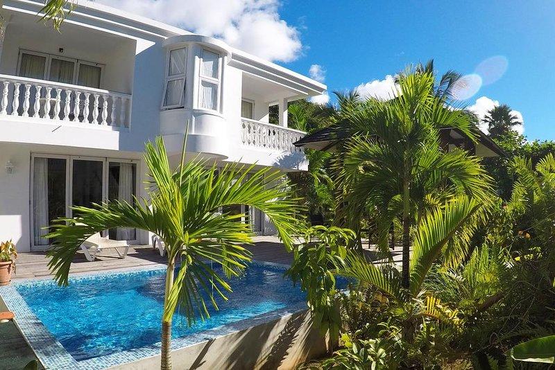 Criollo House: Private 2 bedroom villa V2, holiday rental in Seychelles