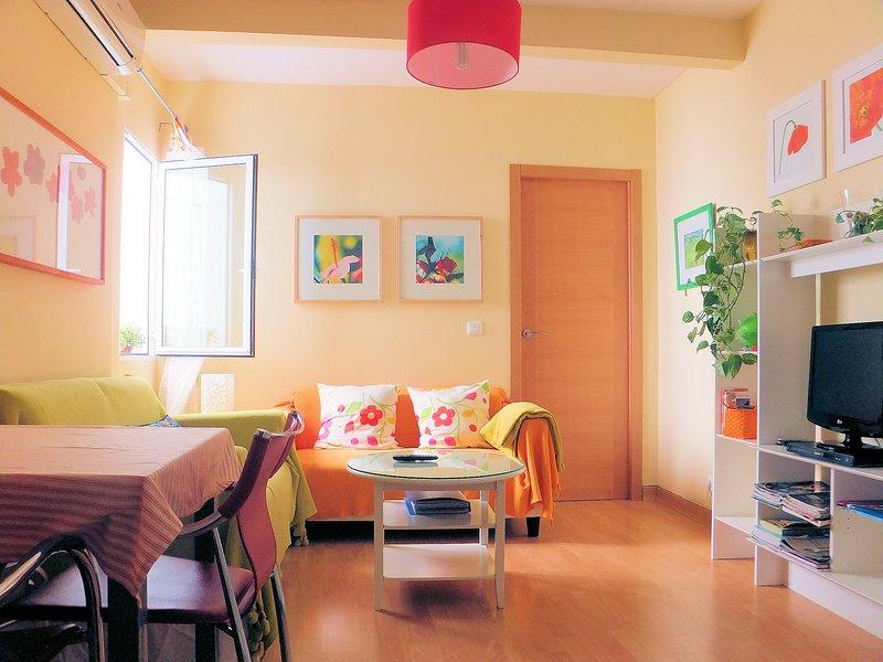 APARTAMENTOVERDE: LINDO, ACOGEDOR, EQUIPADO. CENTRO HISTORICO. PARKING, holiday rental in Seville