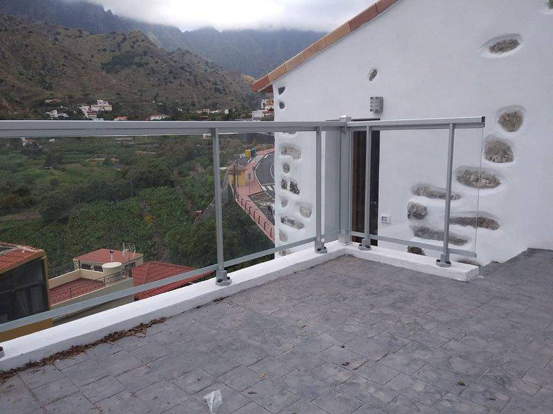 Apartamento con preciosas vistas Casa Bibiana 1, aluguéis de temporada em Hermigua