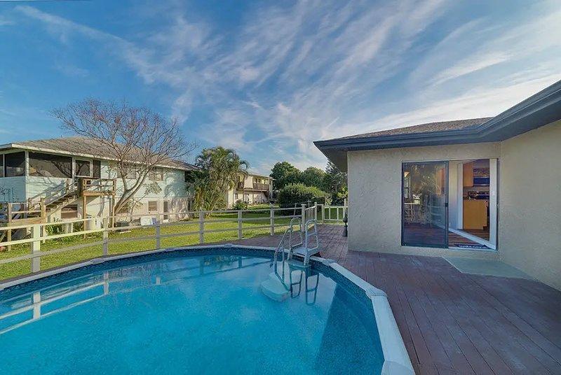 Casey Key House: 2 Bedroom, 2 Bathroom (with Pool) - By Nokomis Beach, holiday rental in Laurel