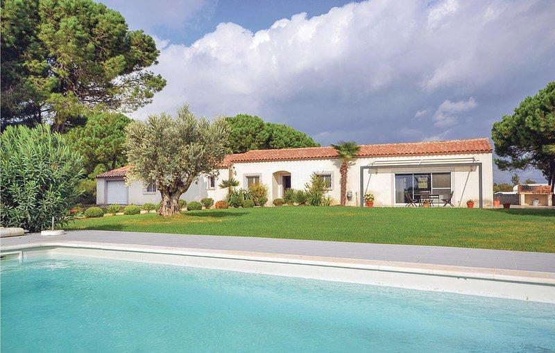 Prachtige villa in de unieke Camarque (FLG275), holiday rental in Montcalm
