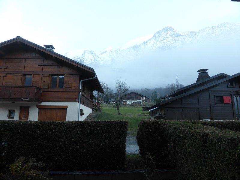 Disfrute de la ubicación de esta propiedad cerca del Mont Blanc.