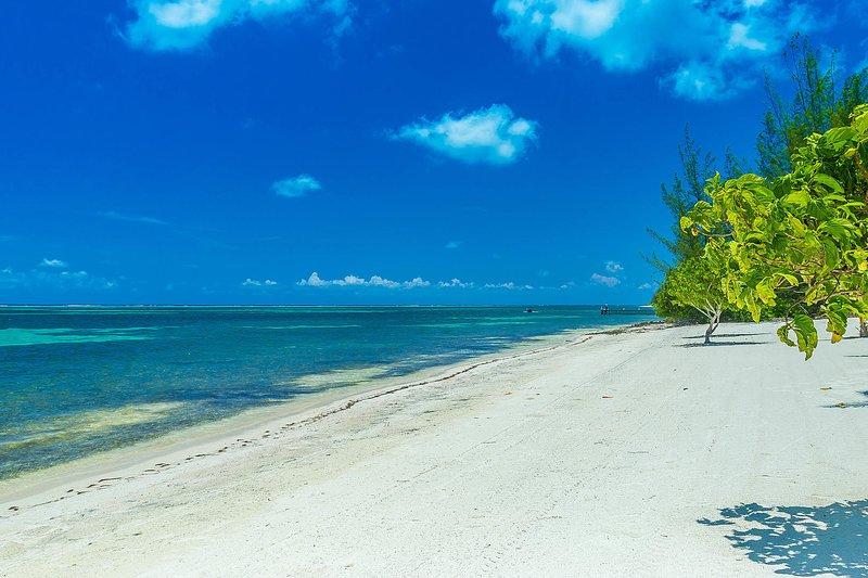 Passez vos vacances sur cette belle plage.