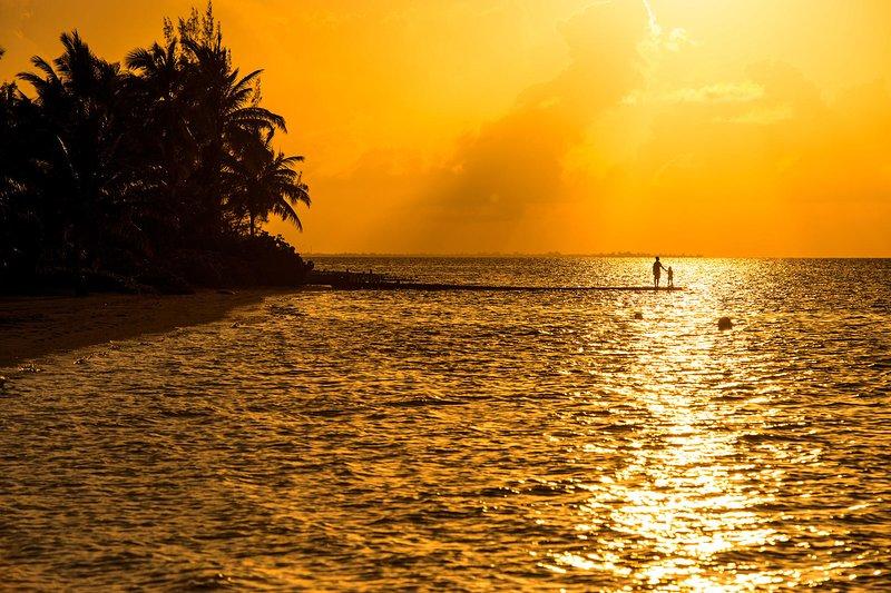 Sunset views from Kai Conut.