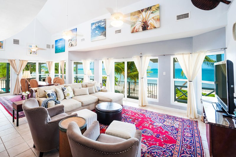 Welcome to Lone Palm! Wake up every morning to this gorgeous view from the living room.