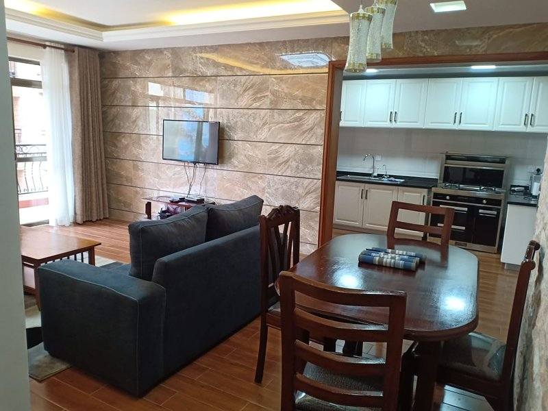 Sitting room , dinning table and part of kitchen