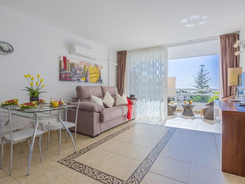 307.Bright,sea view,WiFi,air conditioning CLOSED POOL, holiday rental in La Caldera