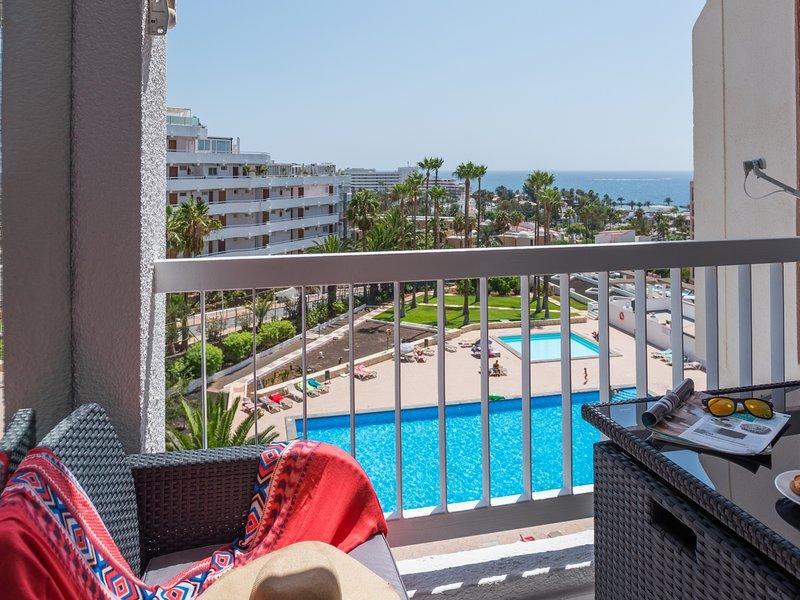 609 LUXURY! SEA VIEW PLAYA LAS AMERICAS, holiday rental in La Caldera
