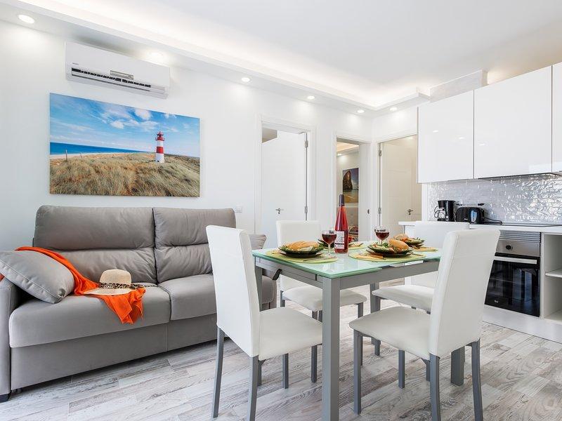 C104A.Brand new apartment, big terrace, pool!, holiday rental in La Caldera