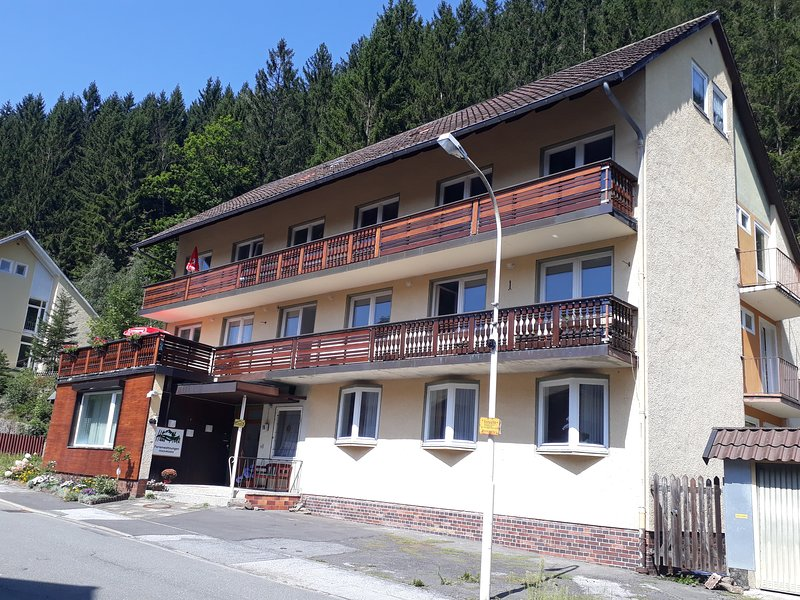 Apartment 1 to 3 · Group Home sleeps 13+1 entire first floor + balcony, location de vacances à Bad Grund