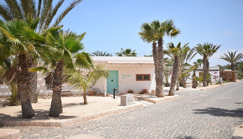 Vila Cristina, House on the beach, Praia de Chaves, Boa Vista, Cape Verde, holiday rental in Santa Monica