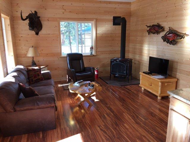 Kenai River Fishing Cabin, alquiler vacacional en Sterling