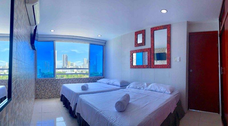 Hermoso apartamento, perfecta ubicación 605A, location de vacances à Bocachica