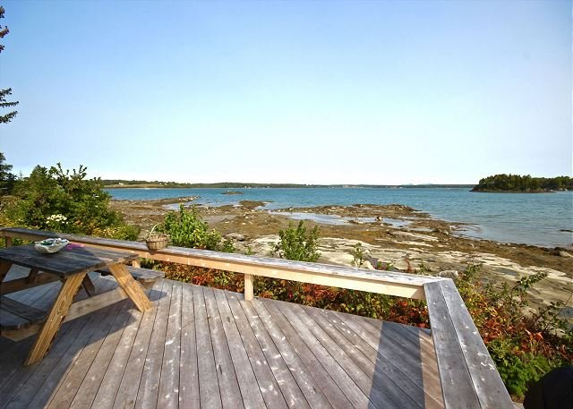 Private waterfront retreat in coveted Otis Point, holiday rental in Spruce Head