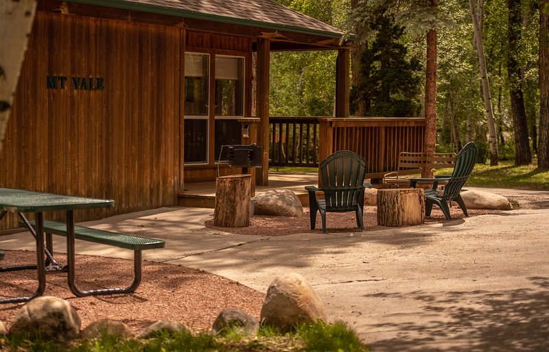 Mt. Yale Chalet at Creekside Chalets, holiday rental in Monarch
