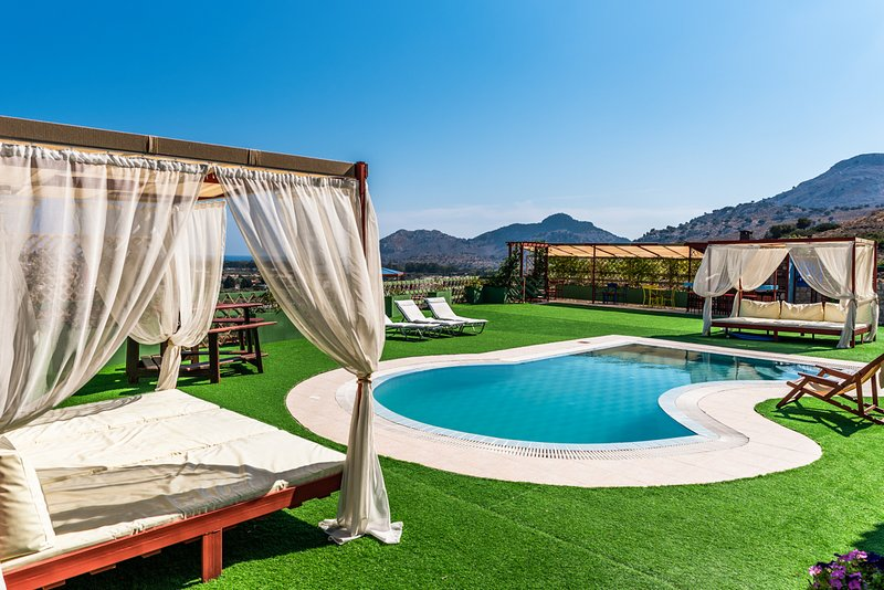 Kolympia Villa Sleeps 8 with Pool and Air Con - 5812954, holiday rental in Kolympia