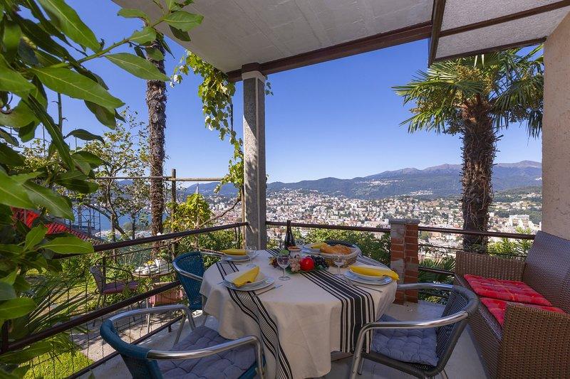 Bellavista Albonago, holiday rental in Comano