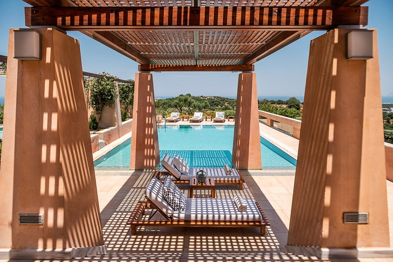 Villa AnnaNiko Chania - Amazing views - Heated pools - Hot tube (7 seat), vacation rental in Chania Town