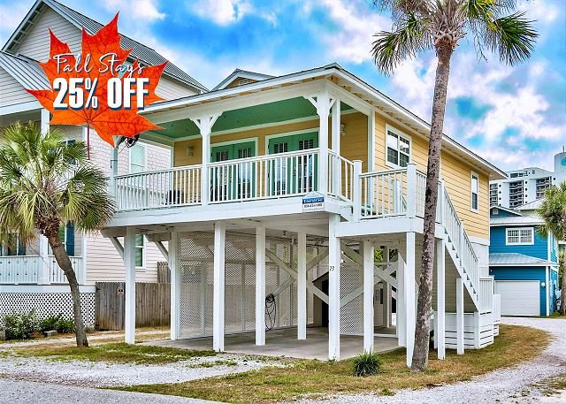 Emerald Sol - Vacation Home in Destin, FL Steps to the Beach