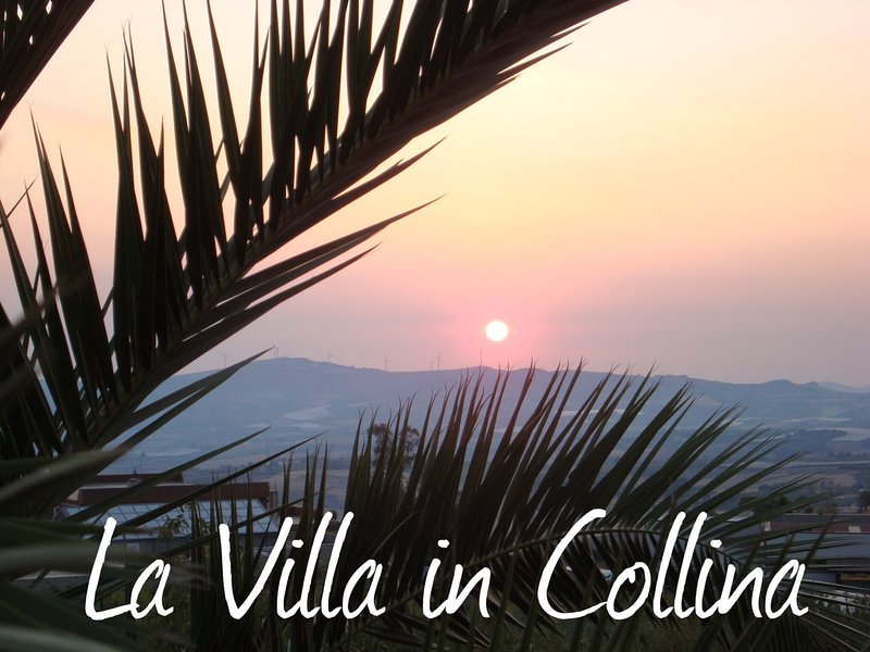 La villa in collina, vacation rental in Ravanusa