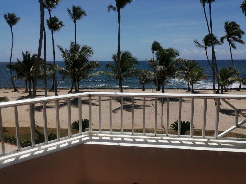 Apartamentos estudio, frente al mar en Juan dolió. A 4 minutos de la playa., holiday rental in Guayacanes