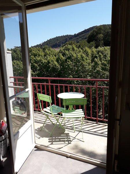 Au pied des Thermes - Joli studio rénové + balcon - Vue dégagée s/ la montagne – semesterbostad i Arles-sur-Tech