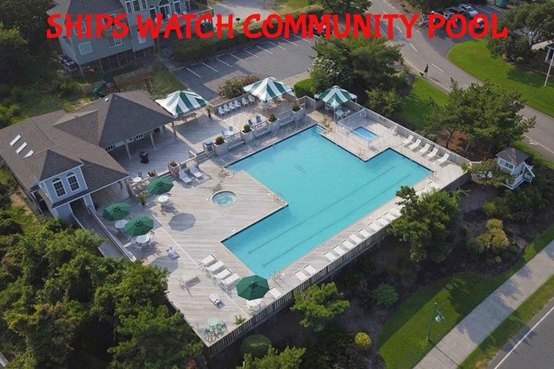 Community Pool Drone Pic