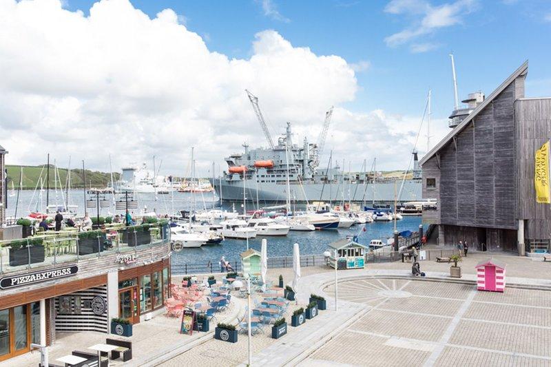 The Harbour View Penthouse, location de vacances à Falmouth