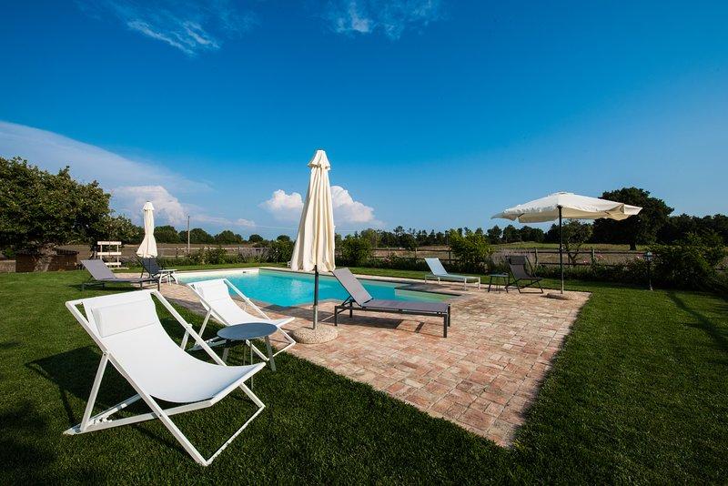 Farmhouse La Ghiga - Saffron cottage, vacation rental in Monterosi