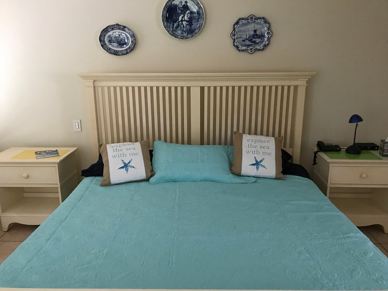King size-säng Master sovrum